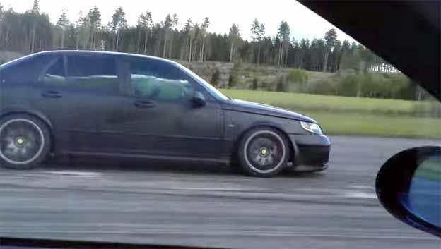Saab 9-5 Nordic vs. BMW 335i