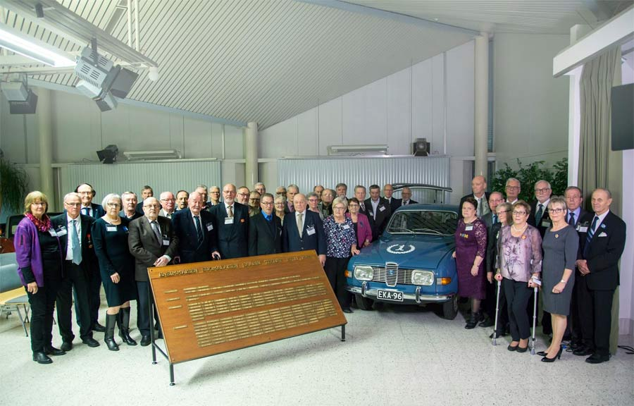 Celebration / 50 years of Saab 96