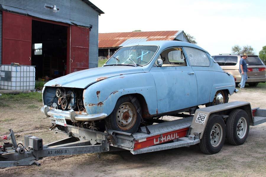 """1968 Saab 96 called """"Gladys"""" 1"""