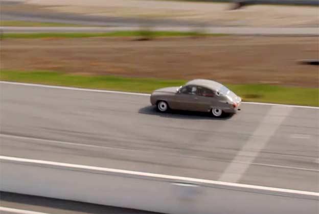 Saab 96 2 stroke sound