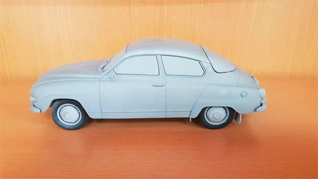 Saab 96 Scale model 1:18