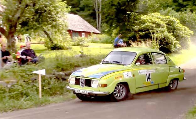 Saab 96 Cornering