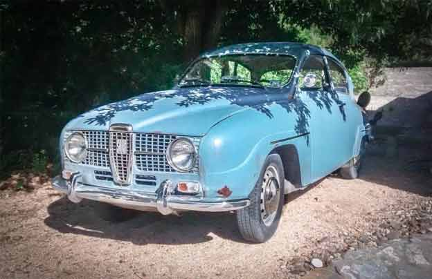 Saab 96 from Texas