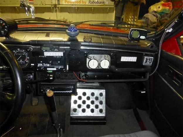 Saab 96 C4 interior