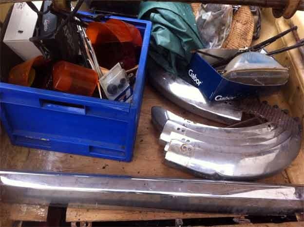 Saab 96 parts