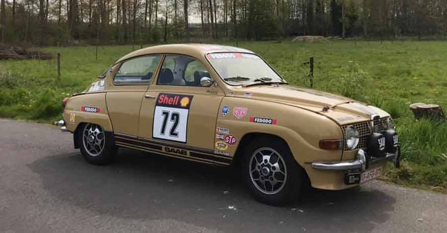 Saab 96 V4 racing