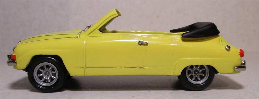Saab 96 V4 Cabrio Scale model by Autodrome