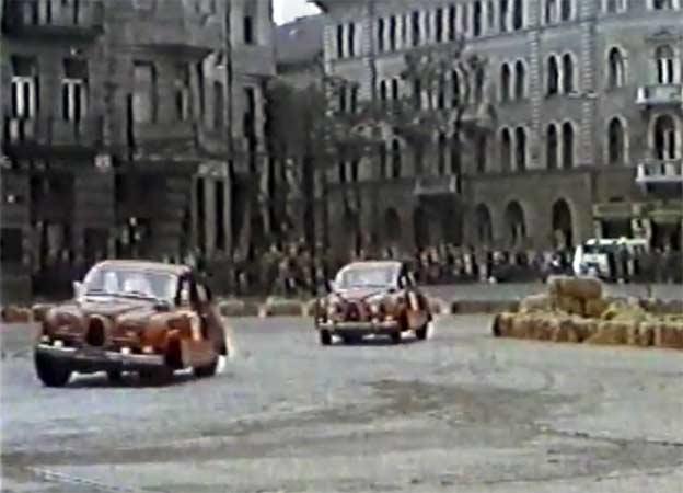 "Saab 96 Sport at race ""4h Budapest"" ETCC"