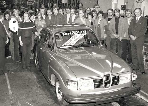 Saab 96 / The last one