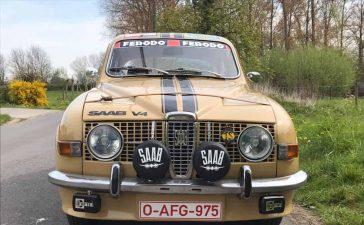 Saab 96, 1500cc V4, van 21/02/1972
