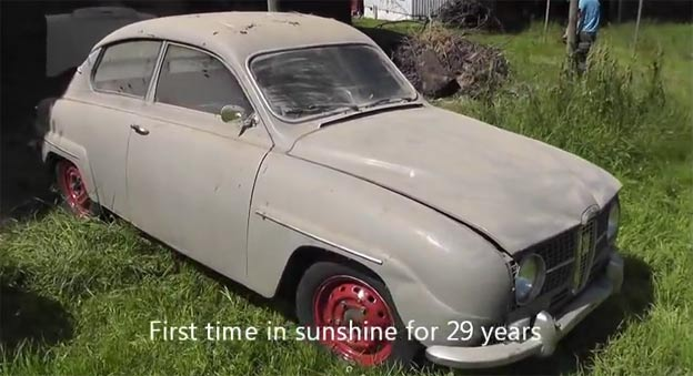 Saab 96 Rescued from Oblivion