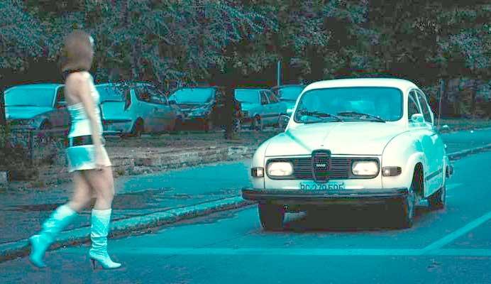"1976 SAAB 96 V4 in ""Serbian Film"""
