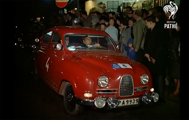 Saab 96 Sport in R.A.C. Rally 1965