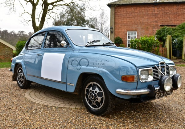 Saab 96 V4 with full FIA Passport for Sale