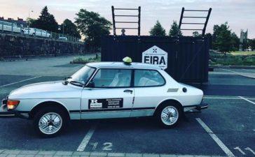 "A Finnish ""Retro Taxi"" sells their Saab 99 GL 5 Speed 1"