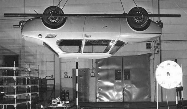 Saab 99 before drop test