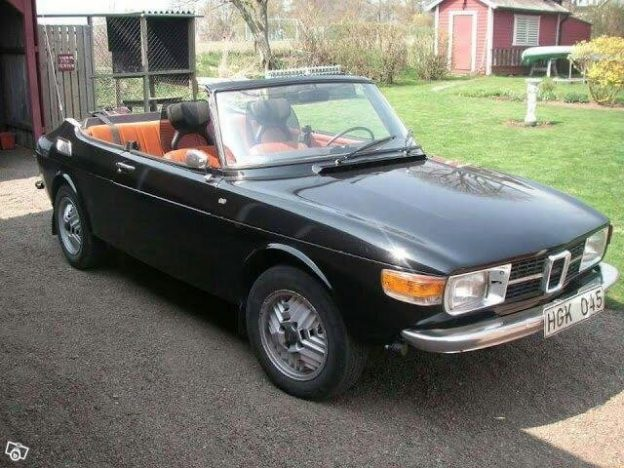 Saab 99 Convertible For