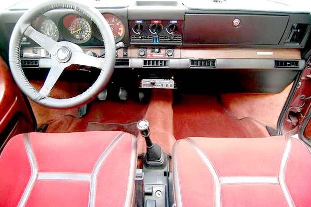 Saab 99 EMS Interior