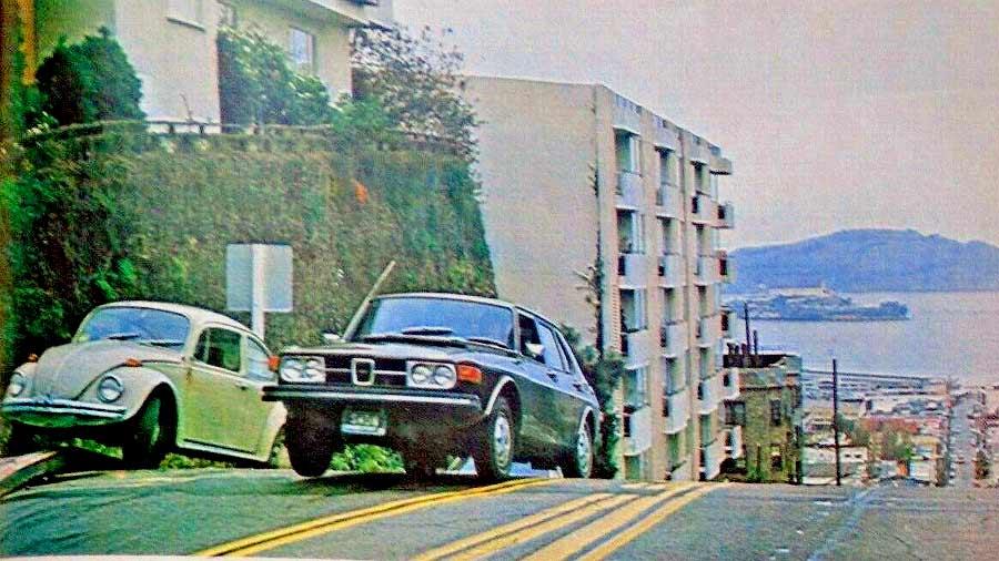 Saab 99 in San Francisco