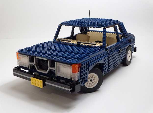 Saab 99 lego