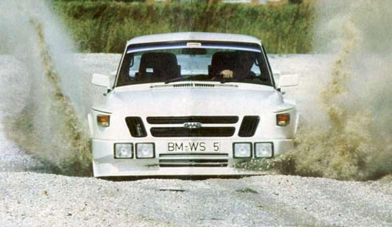 Saab 99 turbo Shcussler