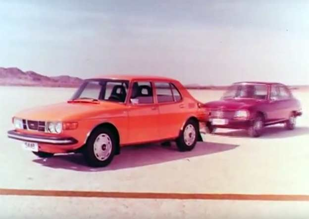 Saab 99 TV advertisiment