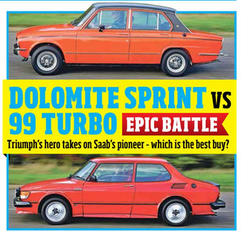 Saab 99 vs. Triumph Dolomite