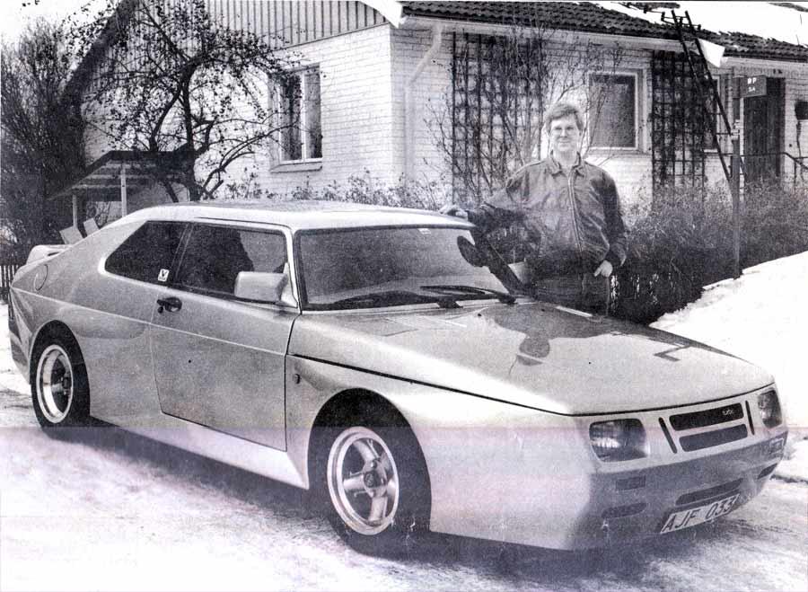 Ove Larsson and his creation Saab 9900