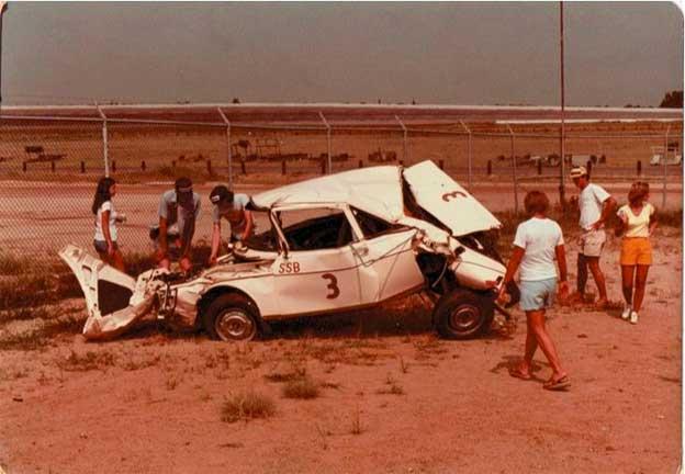 Saab 99 Wreck