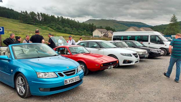 Saab Scottland Event