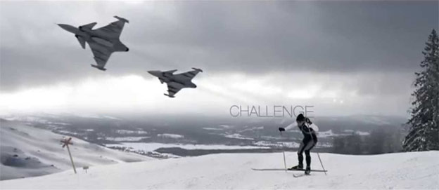 Saab race to Falun 2015