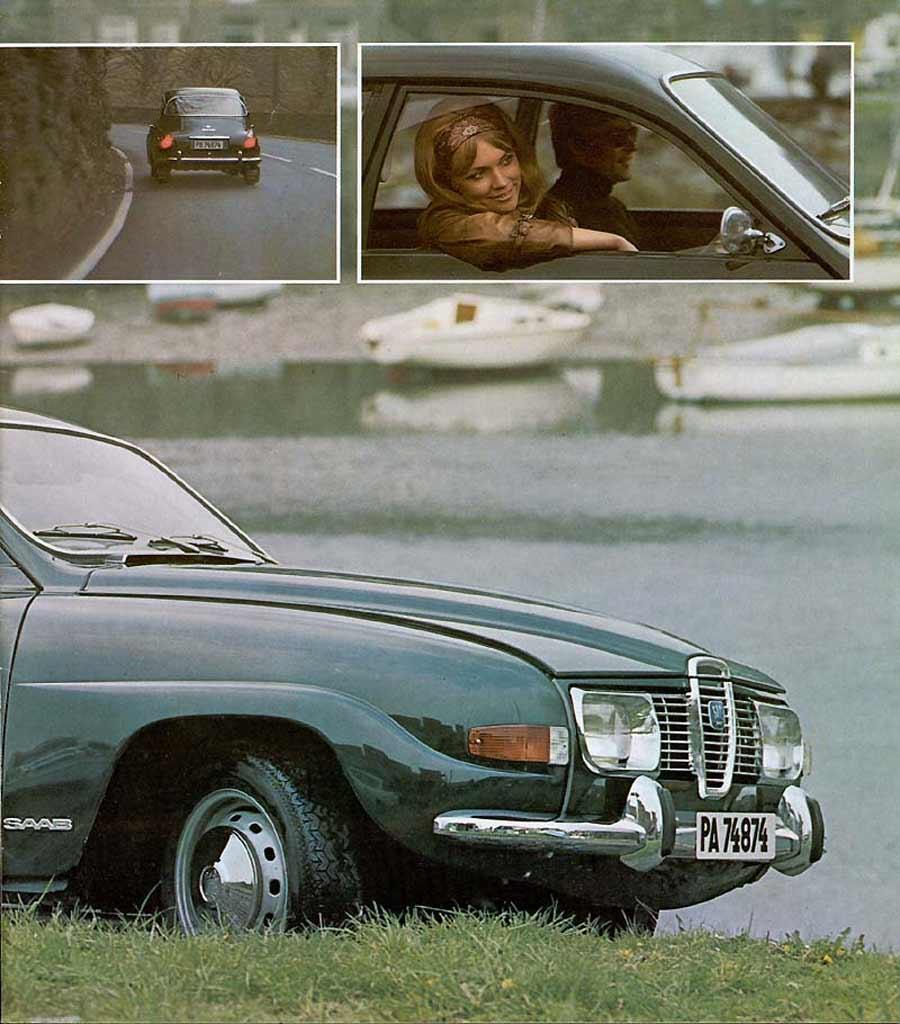 Saab 96 advertising