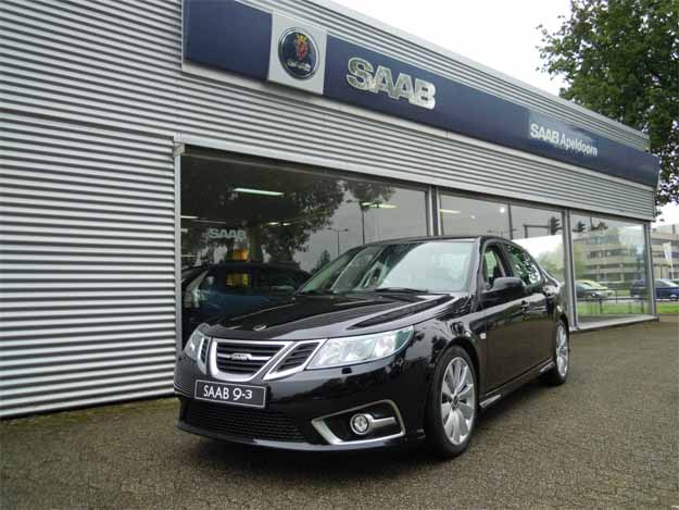 Six new Saab 9-3 in the Netherlands