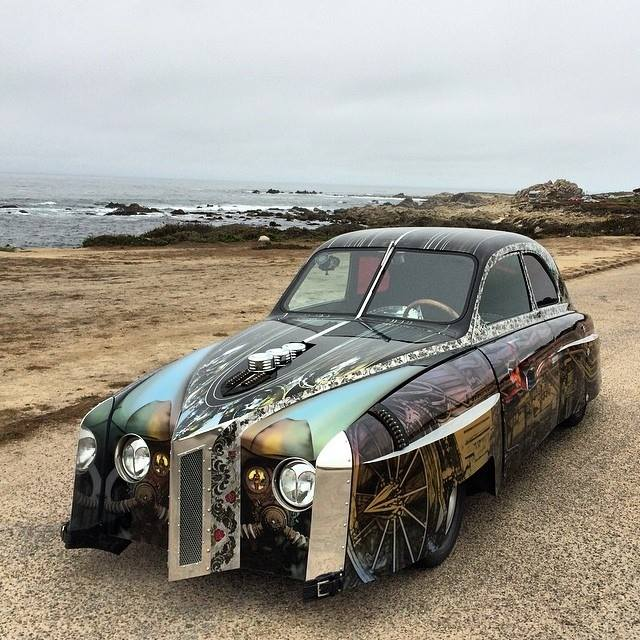 Most expensive SAAB ever - Saab 96 Hot Rod Art Car worth $1.2 million