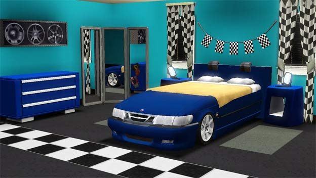 saab bedroom
