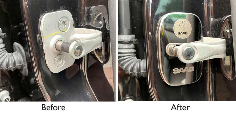 Saab Door Lock Cover Protective Buckle