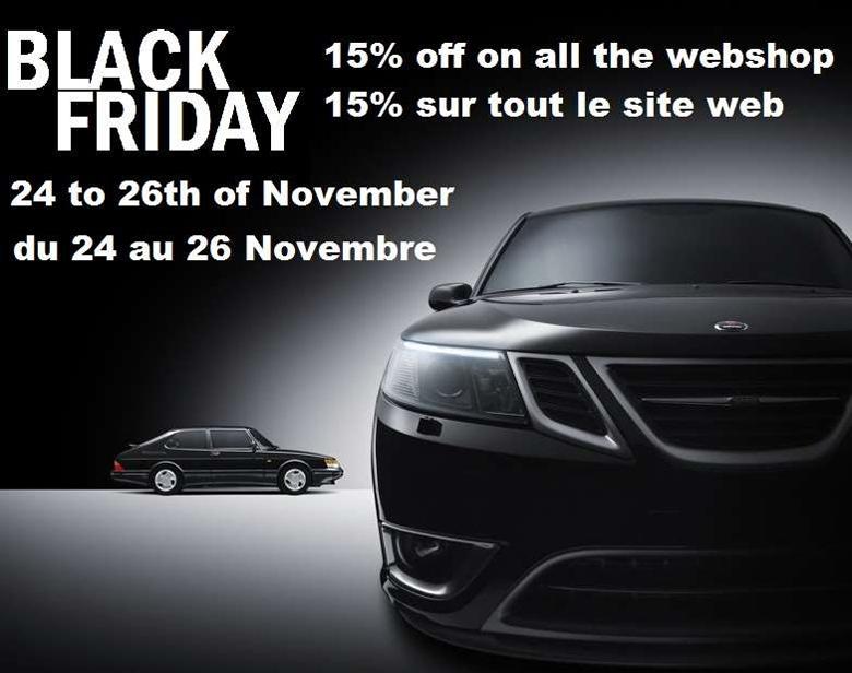 Saab Black friday