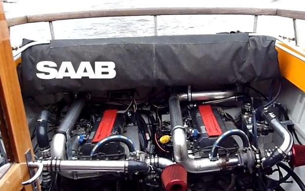 Saab Turbo boat
