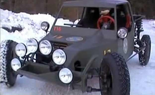 Extreme SAAB Buggy with 175hp