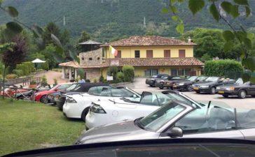 The SAAB Cabrio Challenge 2020 via Austria to Croatia 2
