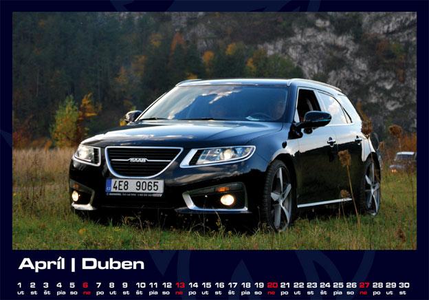 Saab 2015 Calendar in preparation