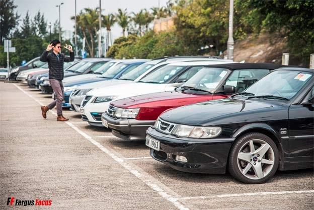 Saab cars Hong Kong