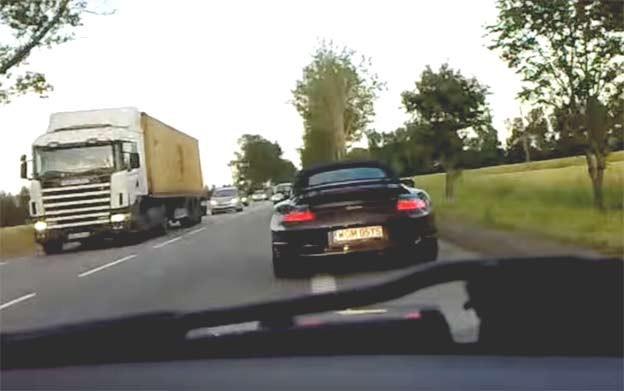 Saab chasing Porsche
