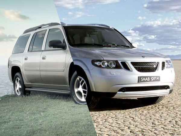 Saab 9-7x / Chevrolet Trailblazer - Separated at Birth 4