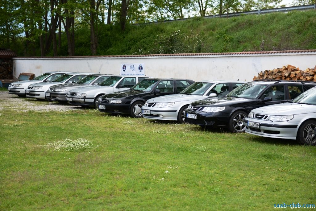Saab club Bulgaria Meeting