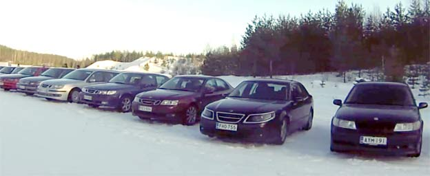Saab Club Finland - Winterdays 2016
