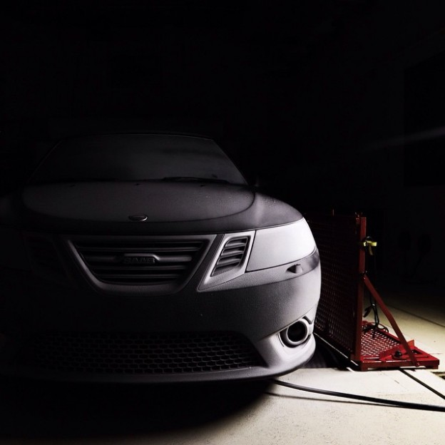 Winter is coming... At least in our climatic wind tunnel! Can you guess the temperature? #saab #snow #cars #cold