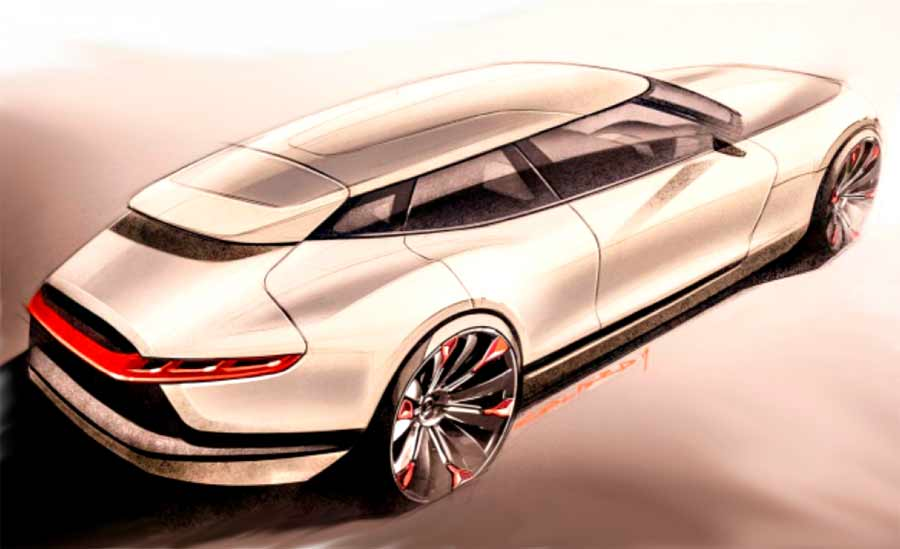 Saab 900 vision concept