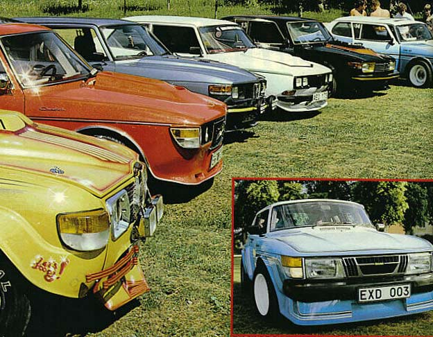 1982 Sweden's Coolest Custom Saab Competition