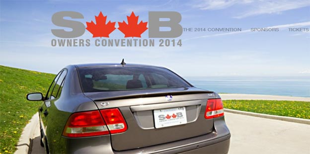First ever SAAB Owner's Convention in Canada